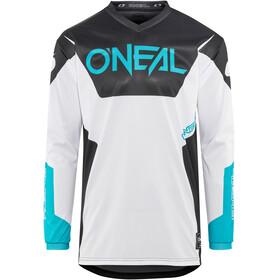 ONeal Element Langærmet cykeltrøje Herrer Racewear hvid/sort